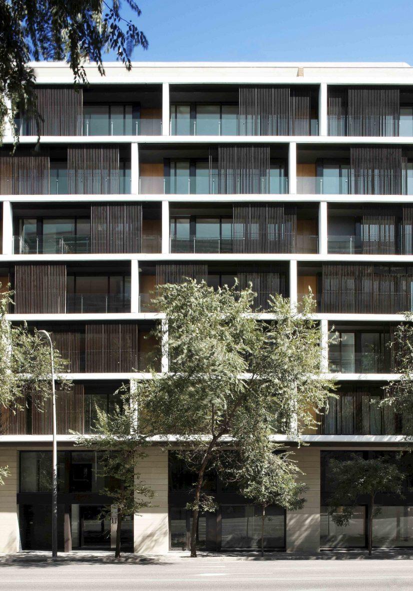 Edificio de 53 viviendas
