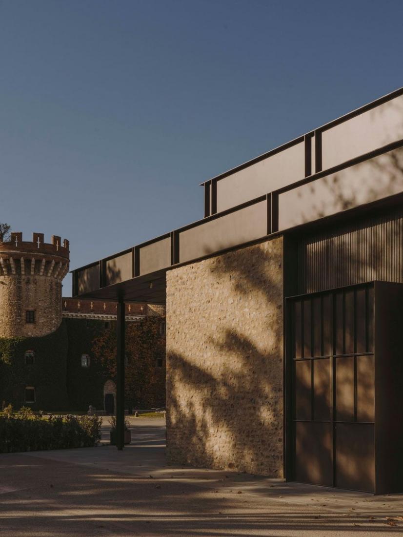 Events center at Peralada Castle